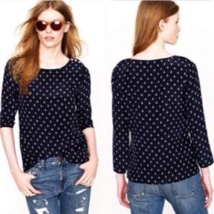 Cynthia Rowley | anchor printed button blouse